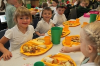 We love school dinners!